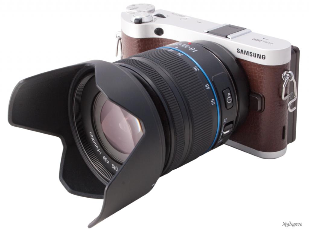 Ít & không xử dụng nên cần bán máy ảnh NX300 - 1