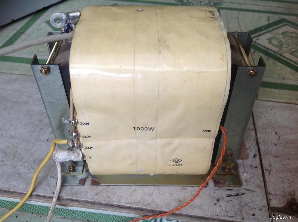 Biến áp cách ly Nhật 500VA -10KVA, lọc nguồn âm thanh..... - 6