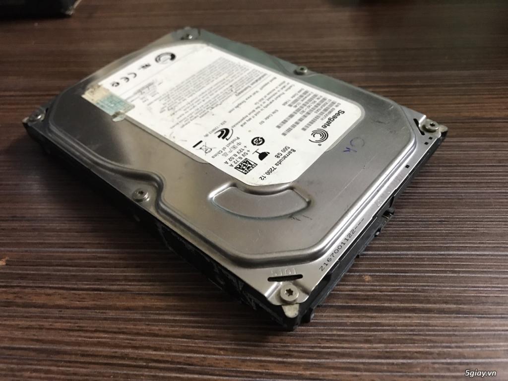 Thanh lý HDD máy bàn 500GB Seagate loại mỏng nhẹ - 3