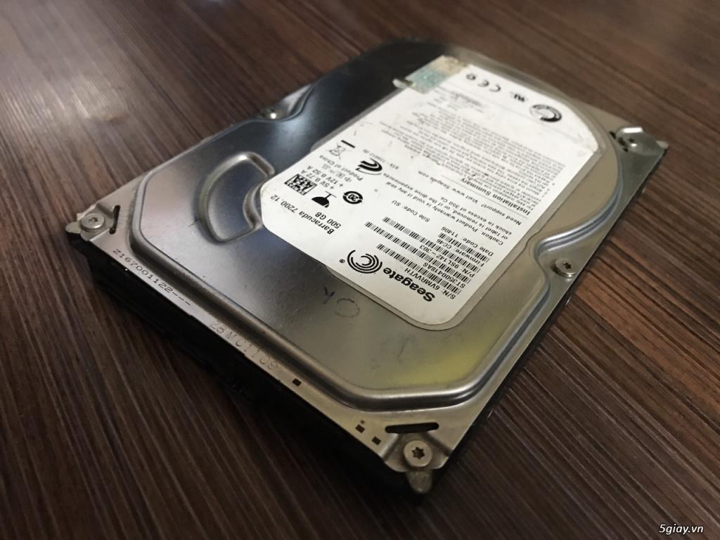 Thanh lý HDD máy bàn 500GB Seagate loại mỏng nhẹ - 4
