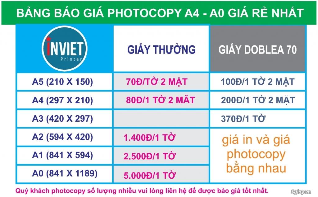 Photo sách màu giá rẻ, photo giá  rẻ nhất 170đ/1 trang - 2