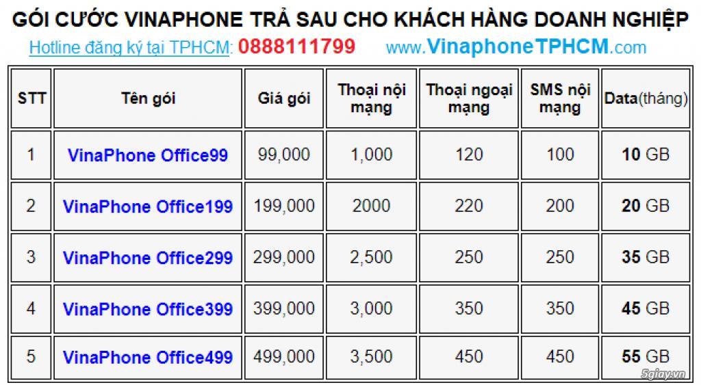 SIÊU KHUYẾN MÃI GÓI CƯỚC VINAPHONE OFFICE CHO CÔNG TY - 2