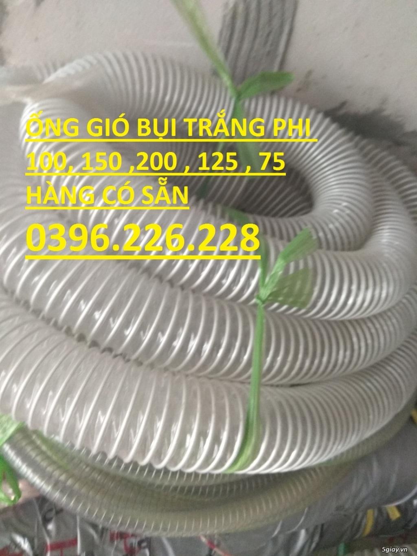 Ống nhựa lõi thép,ống hút bụi, ống gió , ống cao su, nhôm nhún,ống PU. - 2