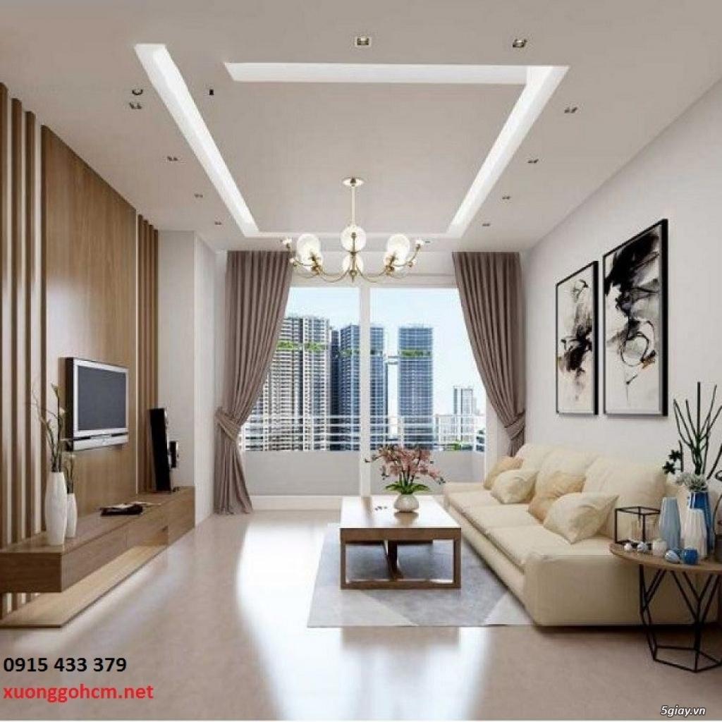 Thiết kế, sản xuất, thi công trọn gói nội thất căn hộ chung cư cao cấp