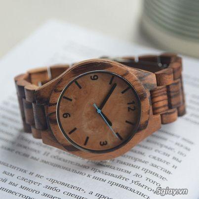 Chuyên đồng hồ Handmade gỗ đàn hương - HOT - 14