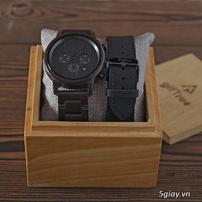 Chuyên đồng hồ Handmade gỗ đàn hương - HOT - 16