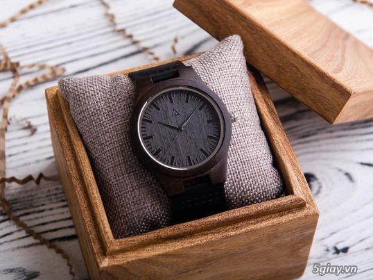 Chuyên đồng hồ Handmade gỗ đàn hương - HOT - 8