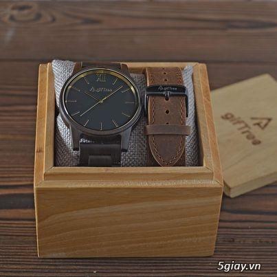 Chuyên đồng hồ Handmade gỗ đàn hương - HOT - 2