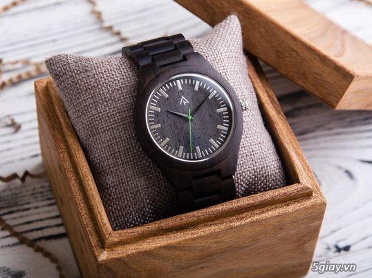 Chuyên đồng hồ Handmade gỗ đàn hương - HOT - 5