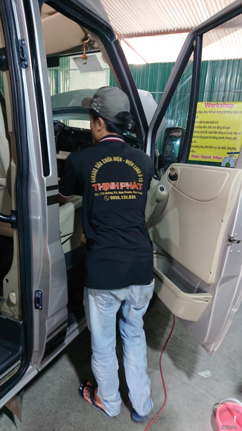 Garage Sửa chữa ô tô tại Nha Trang - Garage Thịnh Phát - 6