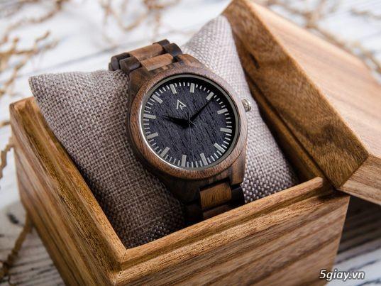 Chuyên đồng hồ Handmade gỗ đàn hương - HOT - 3
