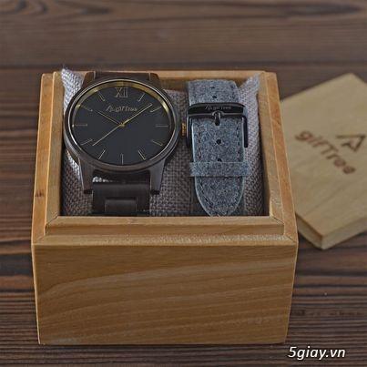 Chuyên đồng hồ Handmade gỗ đàn hương - HOT - 1