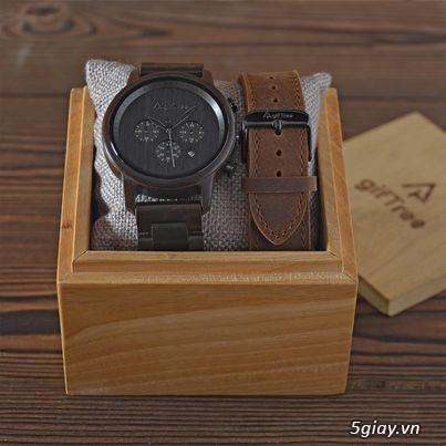 Chuyên đồng hồ Handmade gỗ đàn hương - HOT - 15