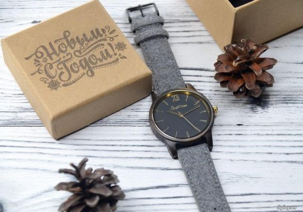 Chuyên đồng hồ Handmade gỗ đàn hương - HOT - 23