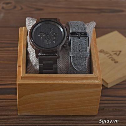 Chuyên đồng hồ Handmade gỗ đàn hương - HOT - 17