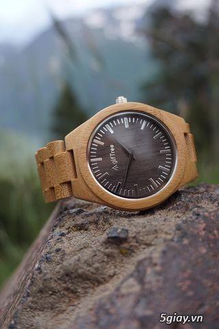 Chuyên đồng hồ Handmade gỗ đàn hương - HOT - 20