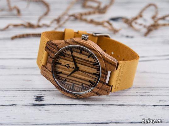 Chuyên đồng hồ Handmade gỗ đàn hương - HOT - 27