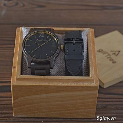 Chuyên đồng hồ Handmade gỗ đàn hương - HOT