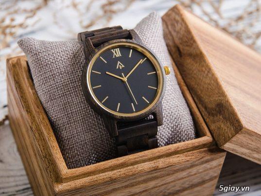 Chuyên đồng hồ Handmade gỗ đàn hương - HOT - 7