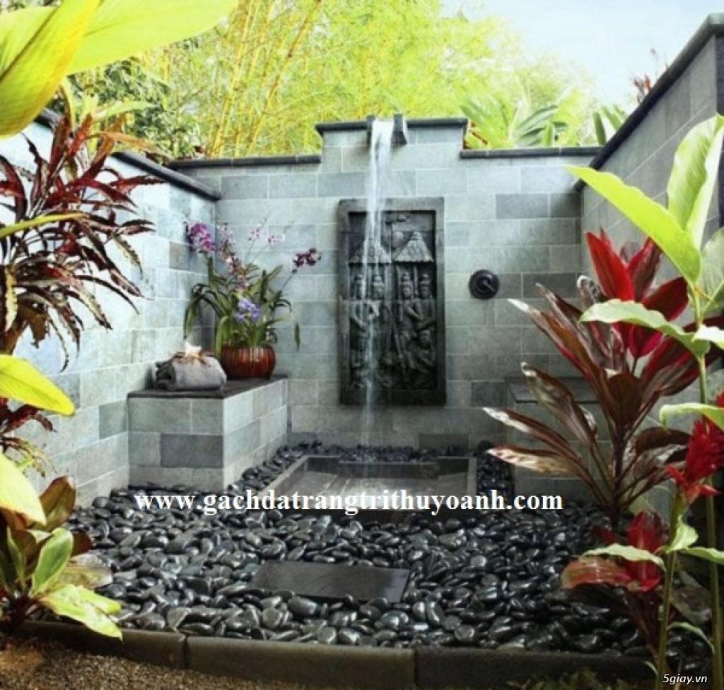 Mẫu sỏi trang trí tiểu cảnh nội thất, tiểu cảnh sân vườn - 11