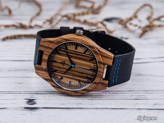 Chuyên đồng hồ Handmade gỗ đàn hương - HOT - 28