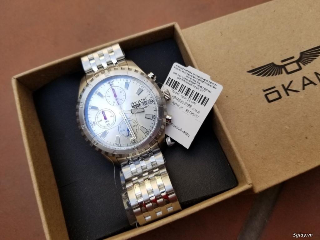 Nhượng lại đồng hồ còn mới nguyên xiu chưa bóc từ Nga gửi về