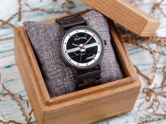 Chuyên đồng hồ Handmade gỗ đàn hương - HOT - 19