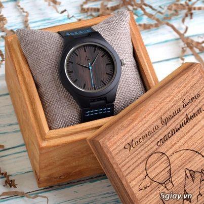Chuyên đồng hồ Handmade gỗ đàn hương - HOT - 26