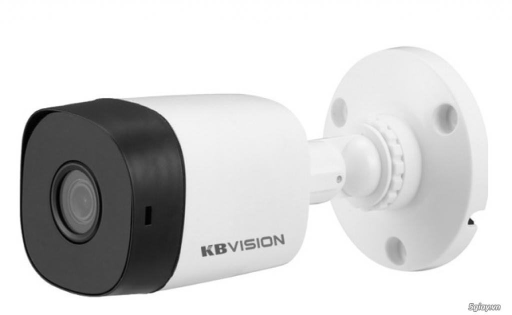 Lắp đặt trọn bộ 3 camera giám sát 2.0MP KBvision