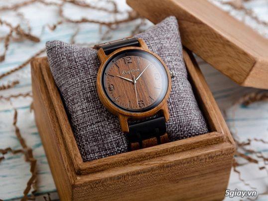 Đồng hồ gỗ đeo tay Phong Thủy hợp mệnh hút tài lộc - 3