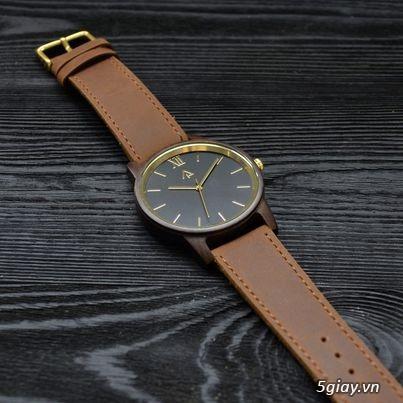 Đồng hồ gỗ đeo tay Phong Thủy hợp mệnh hút tài lộc - 4