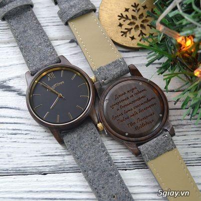 Đồng hồ gỗ đeo tay Phong Thủy hợp mệnh hút tài lộc - 1