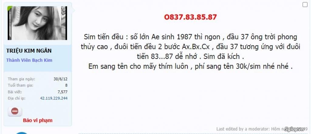[Đôn Giá]O837.83.85.87 Tiến Đều lên sàn ET 22h59' 4/3/2021 - 1