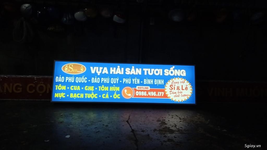 Làm hộp đèn quảng cáo tại bình dương - 1