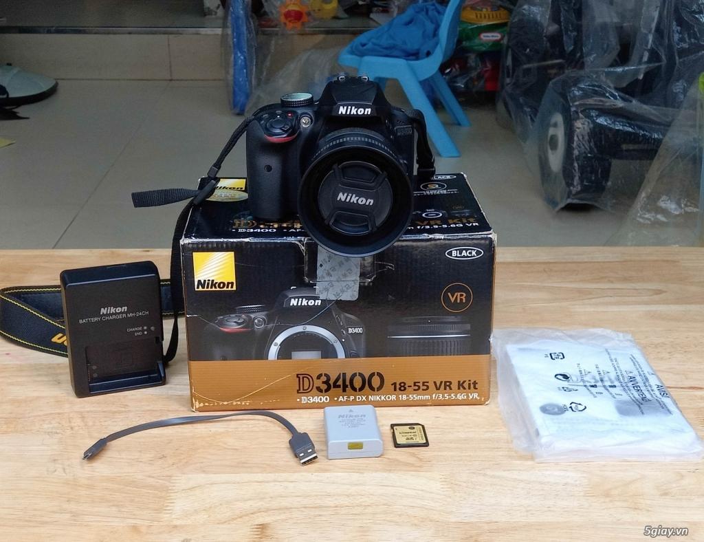 Bán Body Nikon D3400 - lens Nikon 35mm 1.8G - 10