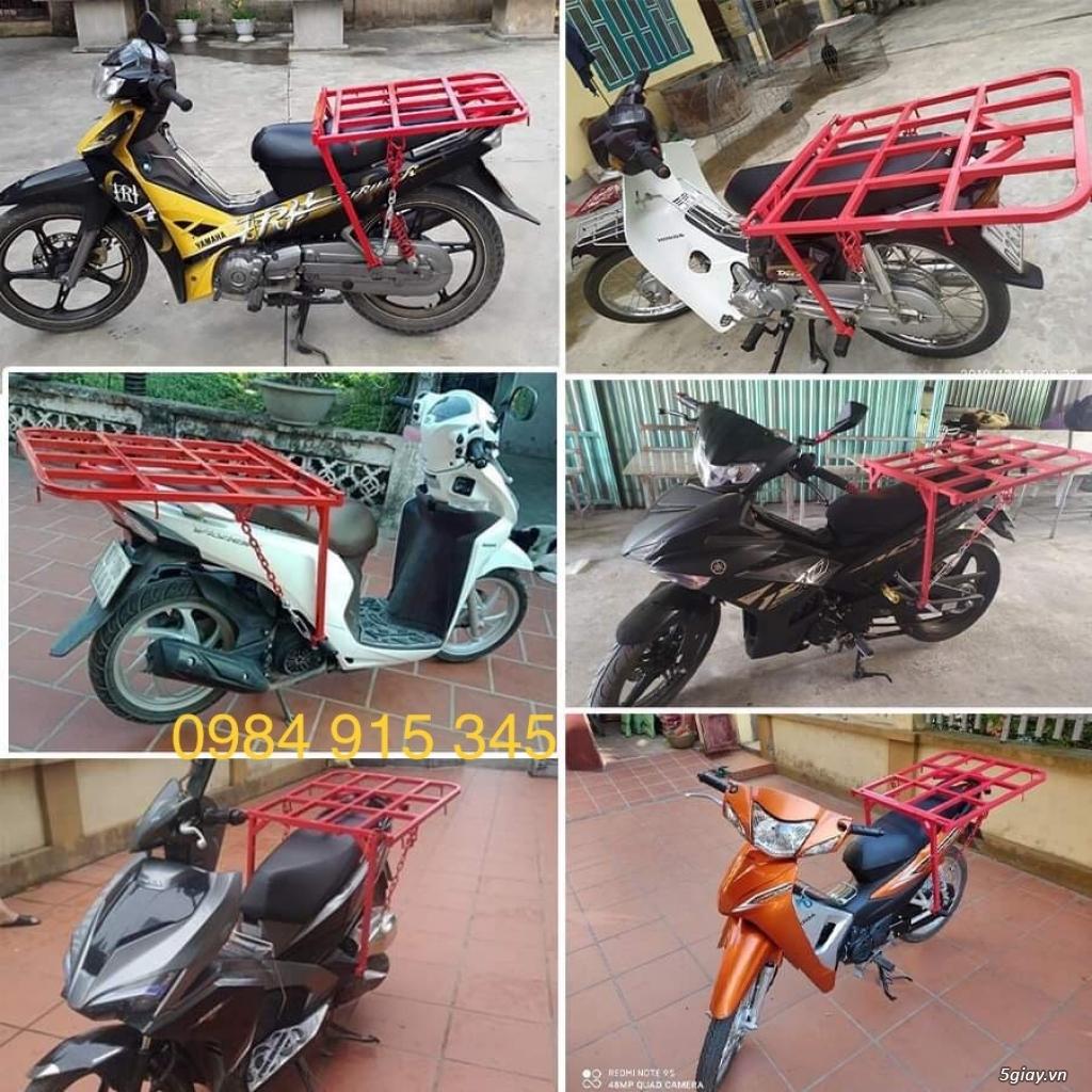 Bán giá chở hàng xe máy thông minh gắn được cho tấc cả các loại xe máy
