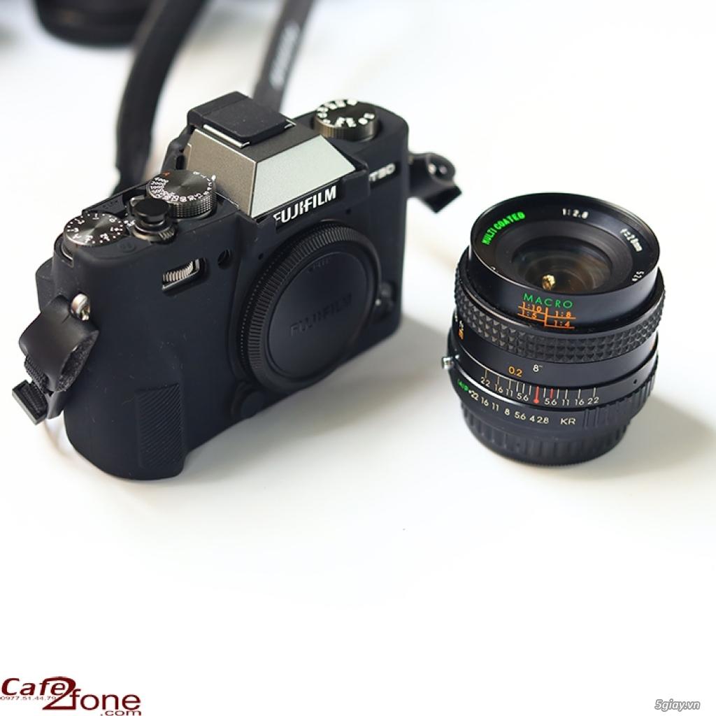 Lens MF Sears Auto Multicoated 28mm F2.8 ngàm PK. Ống kính máy film - 2