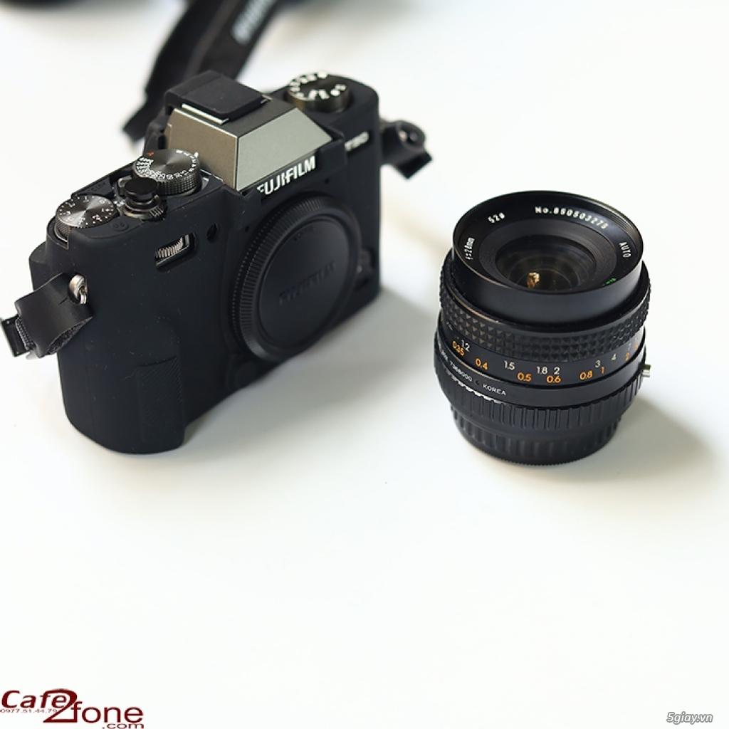Lens MF Sears Auto Multicoated 28mm F2.8 ngàm PK. Ống kính máy film
