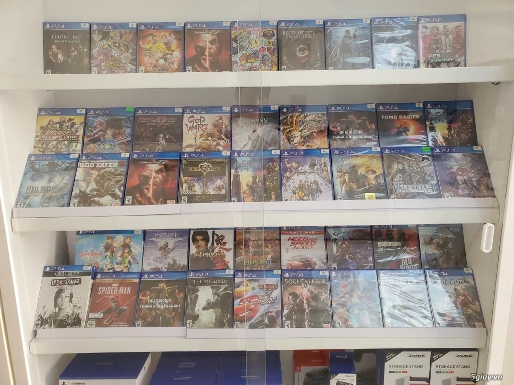 Máy PS4/ tai nghe platinum/ tay cầm DS4.... - 1