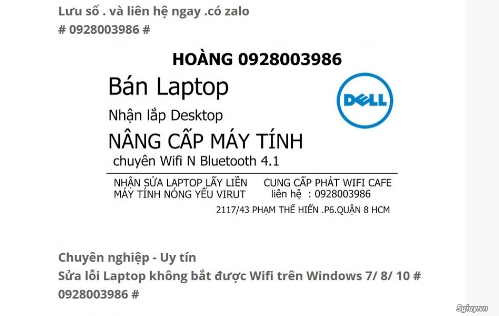 BT4.0 laptop Dell, Asus, music ediction | 5giay - 1