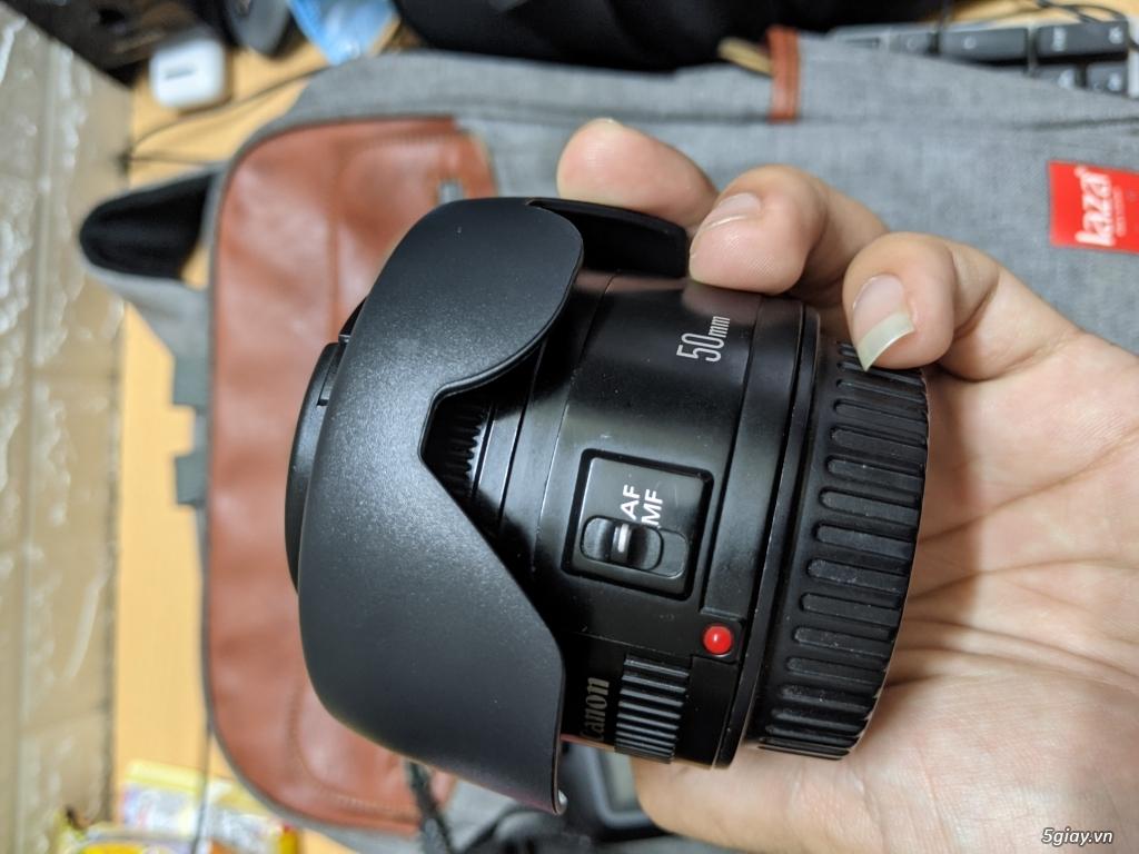 Canon 3000D kèm 50mmf1.8II - 1