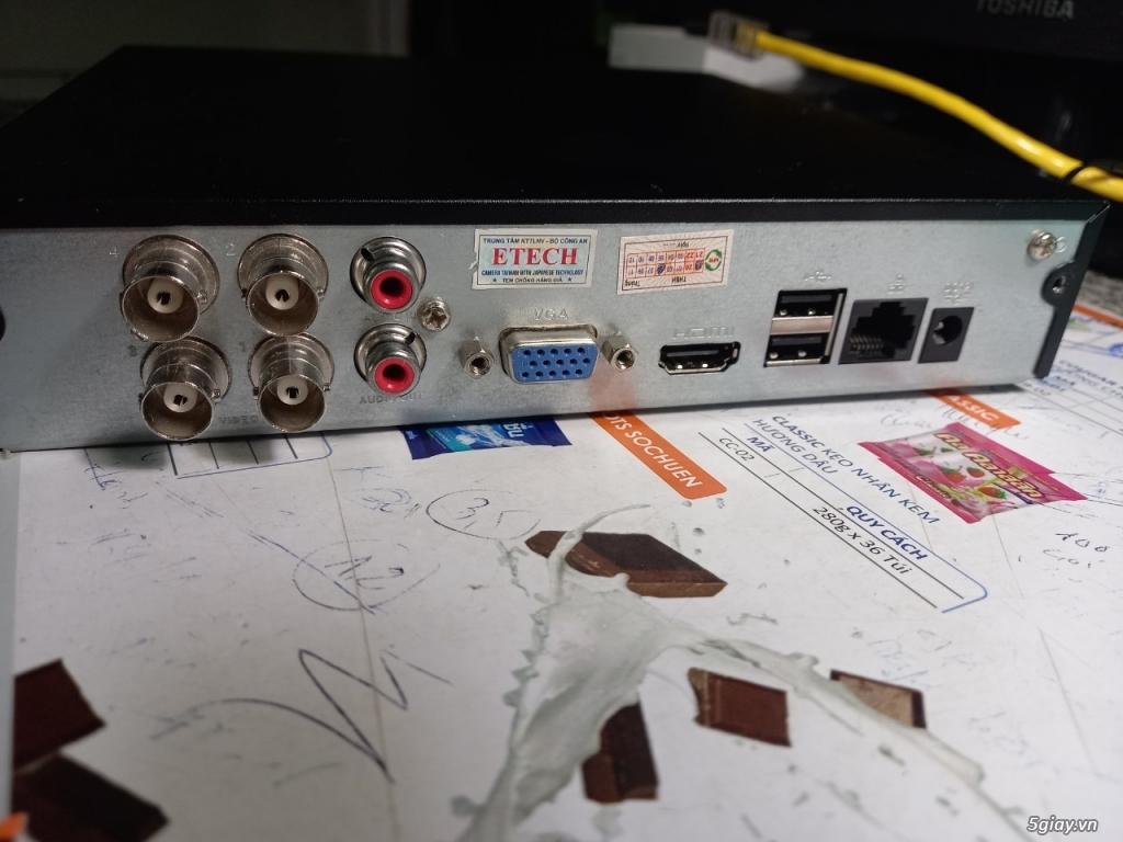 thanh lý đầu ghi ETECH 04 kênh HD - 1