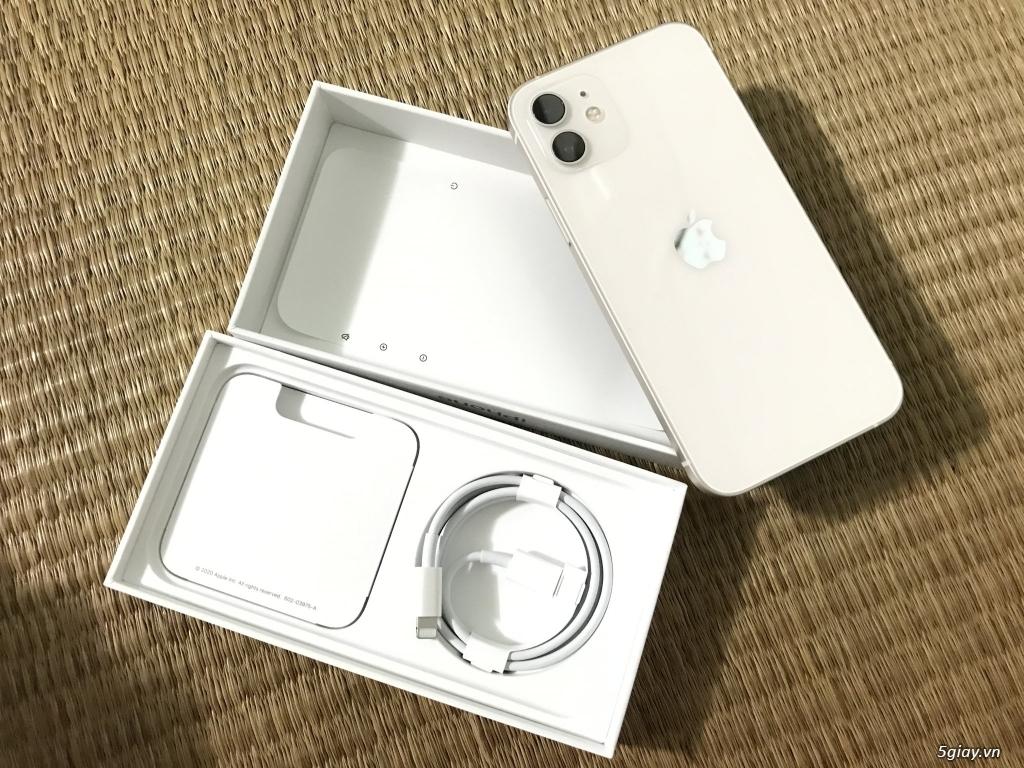 Iphone 12    128GB   màu Trắng   VNA chính hảng từ ShopDunk 24/1