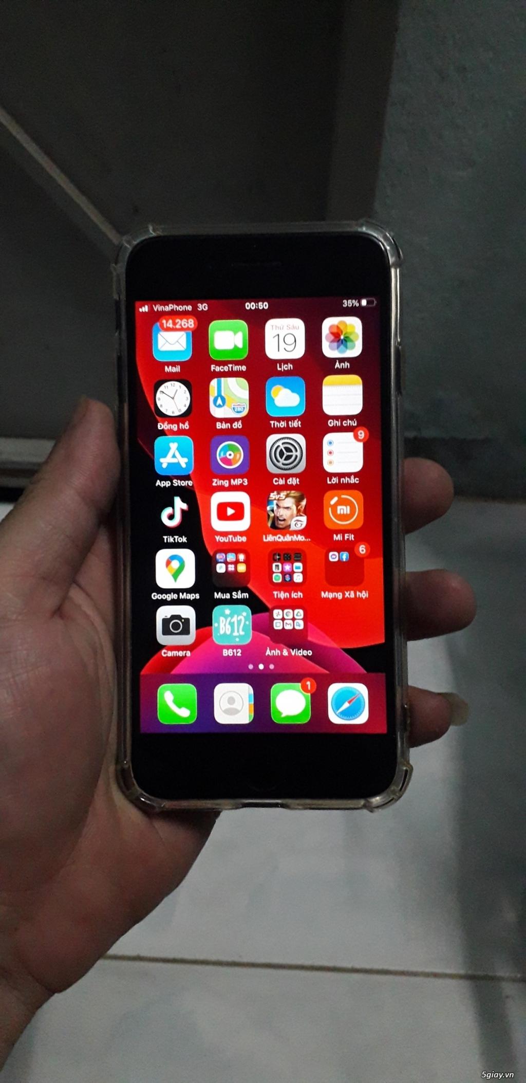 Bán Iphone 7 128G vân tay nhạy máy quốc tế zin - 2