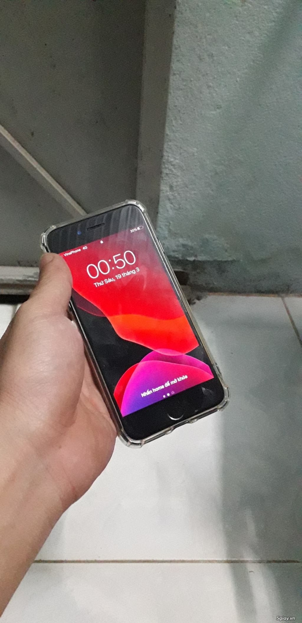 Bán Iphone 7 128G vân tay nhạy máy quốc tế zin - 1
