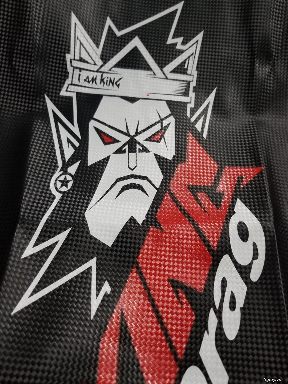 Da Yên King Drag Carbon Đầu Khỉ Lớn [ IAM KING ] - 2
