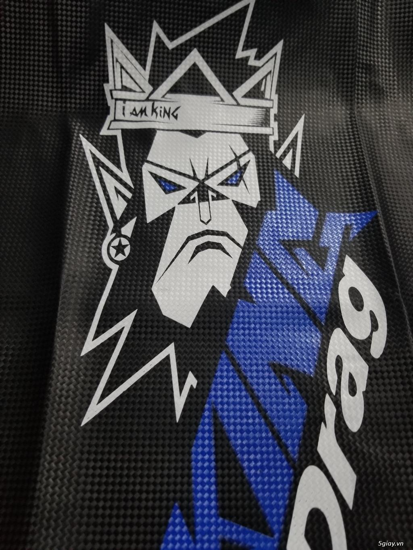 Da Yên King Drag Carbon Đầu Khỉ Lớn [ IAM KING ] - 1