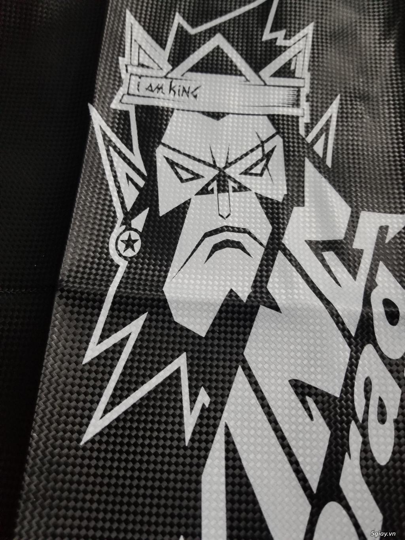 Da Yên King Drag Carbon Đầu Khỉ Lớn [ IAM KING ]