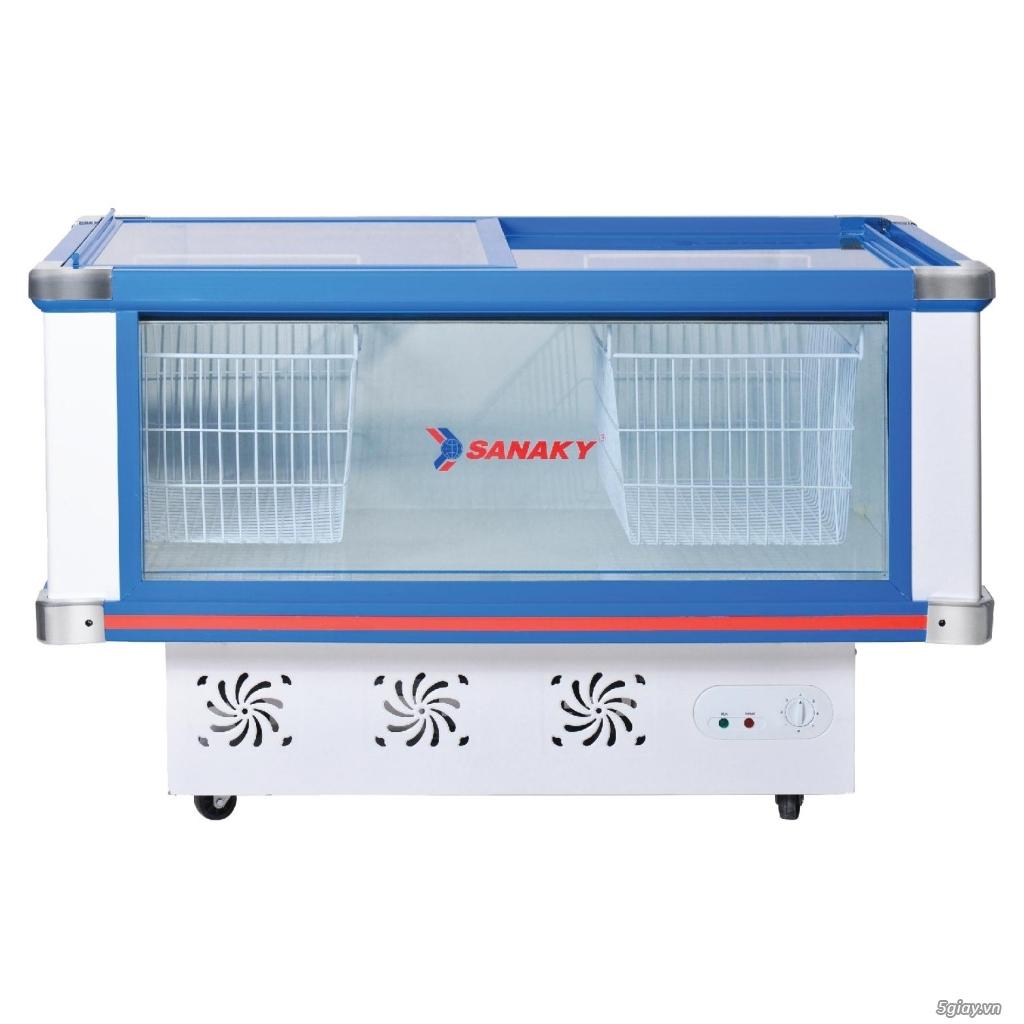 Tủ mát nằm ngang SANAKY VH-299K dàn lạnh ĐỒNG giá tại kho