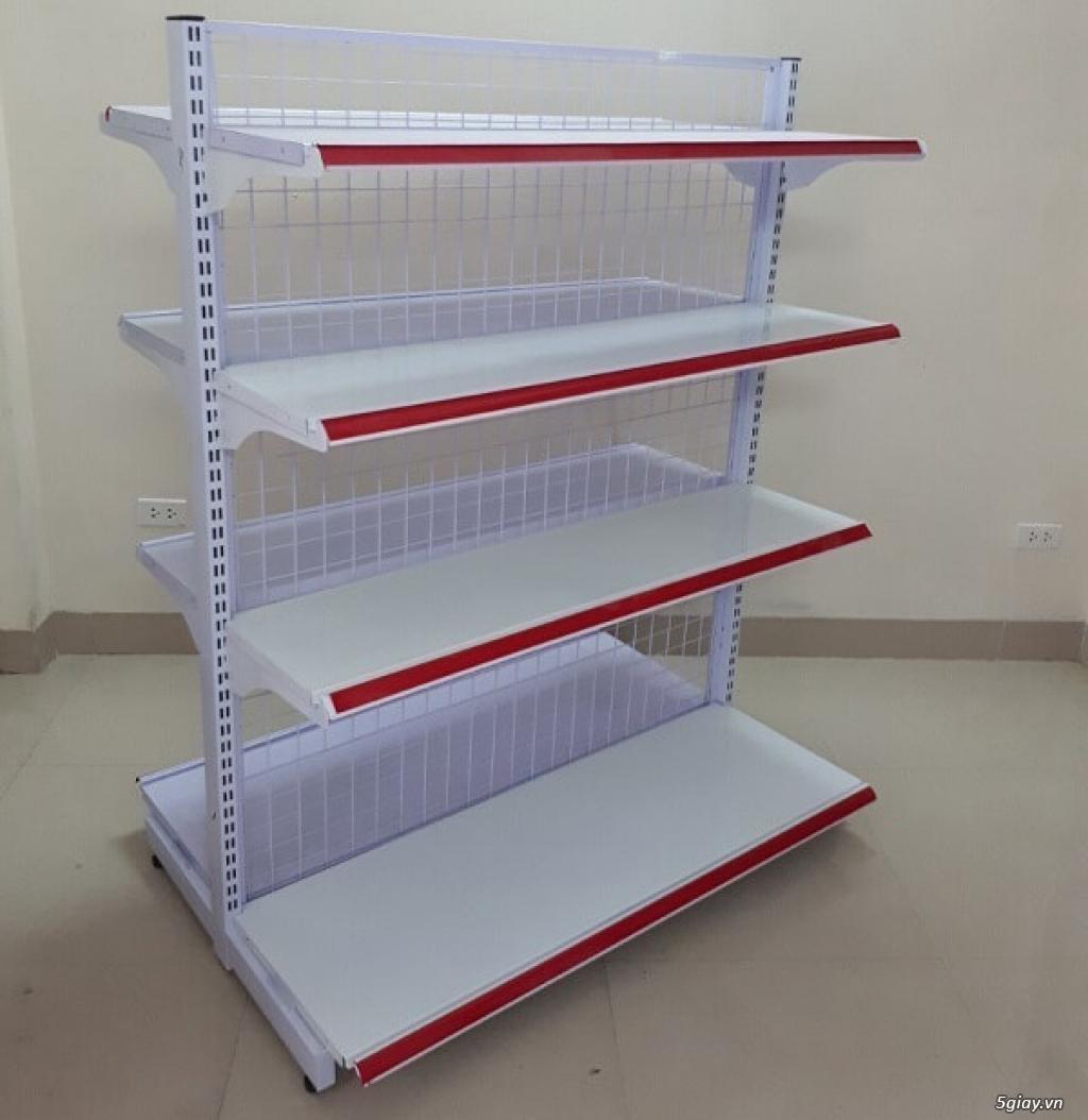 Kệ siêu thị đôi lưng lưới hàng mới có sẵn tại Kho - 2